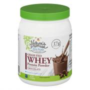 Nature's Promise Grass Fed Whey Protein Powder Supplement
