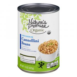 Nature's Promise Organic Low Sodium Cannellini Beans