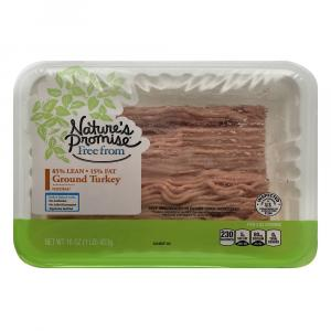 Nature's Promise 94% Ground Turkey