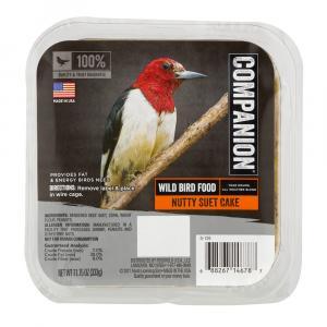 Companion Nutty Suet Cake Wild Bird Food