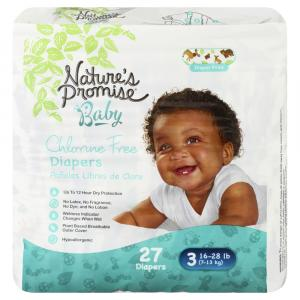 Nature's Promise Baby Size 3 Diapers
