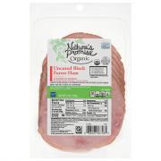Nature's Promise Organic Uncured Black Forest Ham