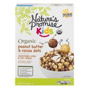 Nature's Promise Kids Peanut Butter & Chocolate Dots Cereal