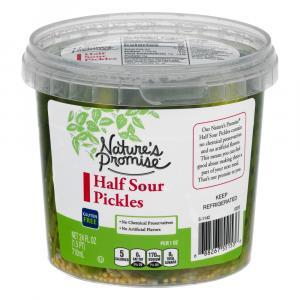 Nature's Promise Half Sour Pickle