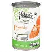 Nature's Promise Organic Pumpkin