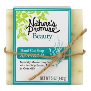 Nature's Promise Beauty Hand Cut Soap Sea Kelp