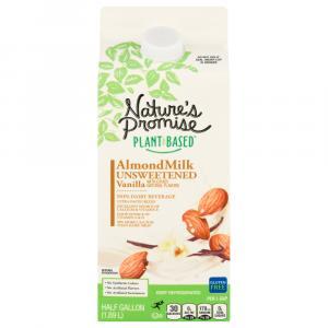 Nature's Promise Unsweetened Vanilla Almondmilk