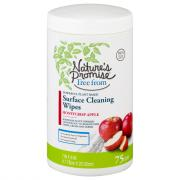 Nature's Promise Surface Cleaning Wipes Honeycrisp Apple