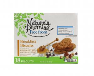 Nature's Promise Honey & Nut Breakfast Biscuits