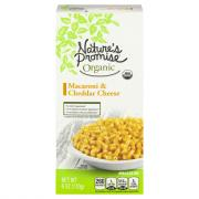 Nature's Promise Organic Macaroni & Cheddar Cheese
