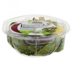 Nature's Promise Spinach Salad with Chicken