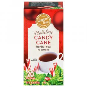 Limited Time Originals Holiday Candy Cane Herbal Tea