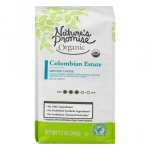 Nature's Promise Organic Colombian Estate Ground Coffee