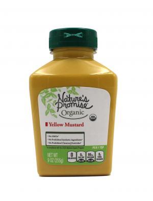 Nature's Promise Organic Yellow Mustard
