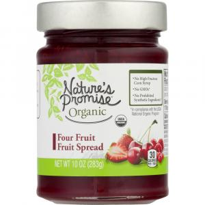 Nature's Promise Organic Four Fruit Spread