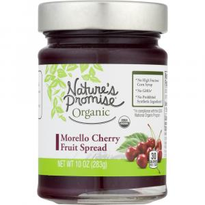 Nature's Promise Organic Morello Cherry Fruit Spread