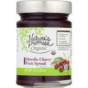 Nature's Promise Organic Morello Cherry Fruit Spread