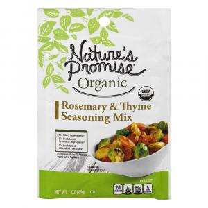 Nature's Promise Organic Rosemary & Thyme Seasoning Mix