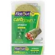 Flatout Carb Down Spinach