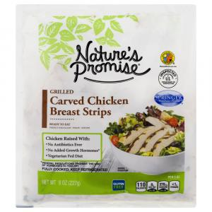 Nature's Promise Grilled Carved Chicken Breast Strips