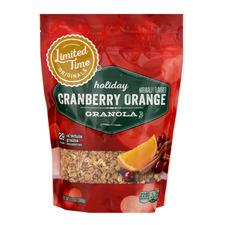 Limited Time Originals Holiday Cranberry Orange Granola