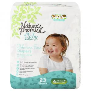 Nature's Promise Baby Size 4 Diapers