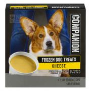Companion Frozen Dog Treats Cheese