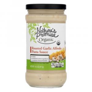 Nature's Promise Organic Roasted Garlic Alfredo Sauce