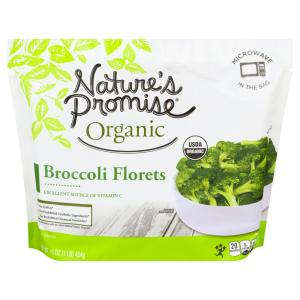 Nature's Promise Organic Frozen Broccoli Florets