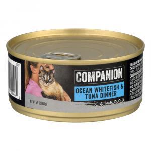 Companion Ocean Whitefish Tuna Dinner