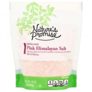 Nature's Promise Pink Himalayan Extra Fine Salt