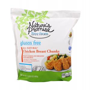 Nature's Promise Gluten Free Chicken Breast Chunks