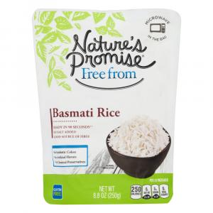 Nature's Promise Microwave in the Bag Basmati Rice