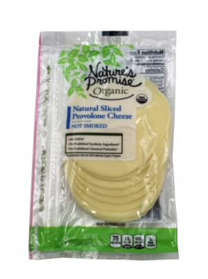 Nature's Promise Organic Natural Sliced Provolone Cheese