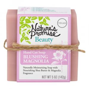 Nature's Promise Beauty Hand Cut Soap Blushing Magnolia