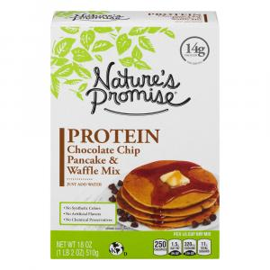 Nature's Promise Protein Chocolate Chip Pancake & Waffle Mix