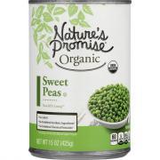 Nature's Promise Organic Sweet Peas