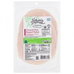Nature's Promise Organic Uncured Oven Roasted Turkey
