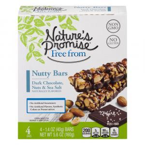 Nature's Promise Dark Chocolate Nuts & Sea Salt Energy Bar