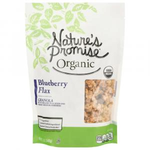 Nature's Promise Organic Blueberry Flax Granola