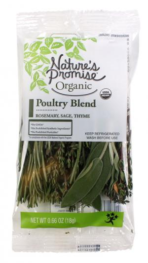 Nature's Promise Organic Poultry Blend Herbs