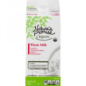 Nature's Promise Organic Whole Milk