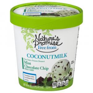Nature's Promise Coconut Milk Mint Chocolate Chip