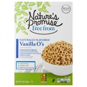 Nature's Promise Vanilla O's Toasted Cereal