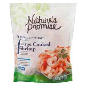 Nature's Promise 31/40 Tail On Cook Peeled n Deveined Shrimp