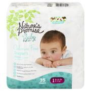Nature's Promise Baby Size 1 Diapers