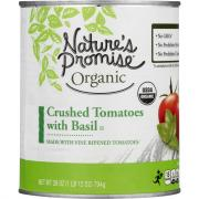 Nature's Promise Organic Crushed Tomatoes with Basil