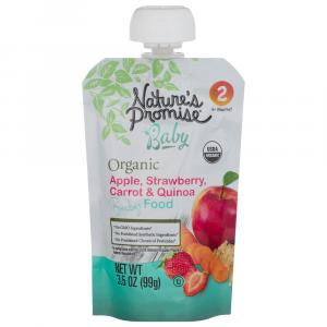 Nature's Promise Apple, Strawberry, Carrot, Quinoa Baby Food