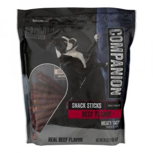 Companion Beef Flavor Snack Sticks