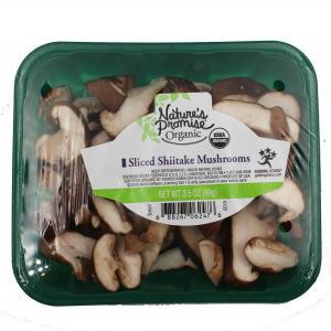 Nature's Promise Organic Sliced Shiitake Mushrooms
